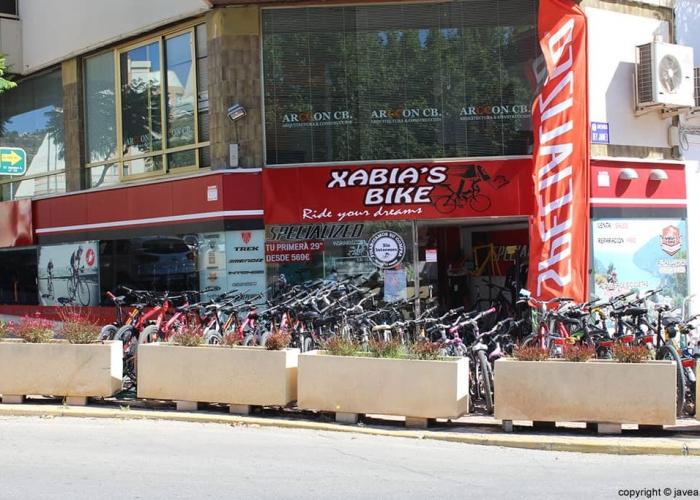 xabia bikes javea outside
