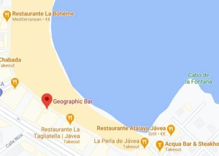 geographic map accessible javea