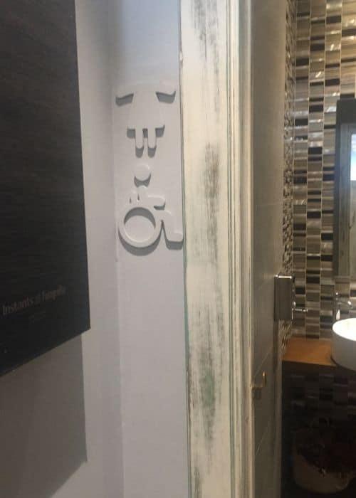 disabeld toilet tasca port Javea