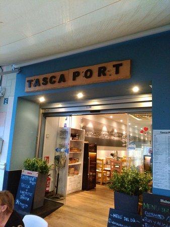 Tasca Port disabled access Javea
